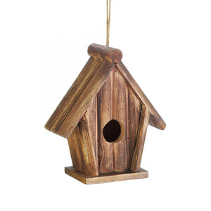 Songbird Valley Classic Rustic Wood Birdhouse - 10018412