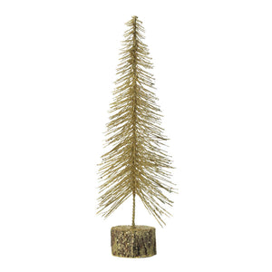 Christmas Collection Medium Gold Glitter Tree - 10018481