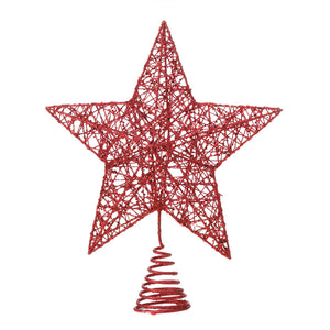 Christmas Collection Red Star Tree Topper - 10018482