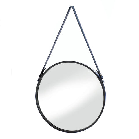 Accent Plus Hanging Mirror With Faux Leather Strap - 10018489