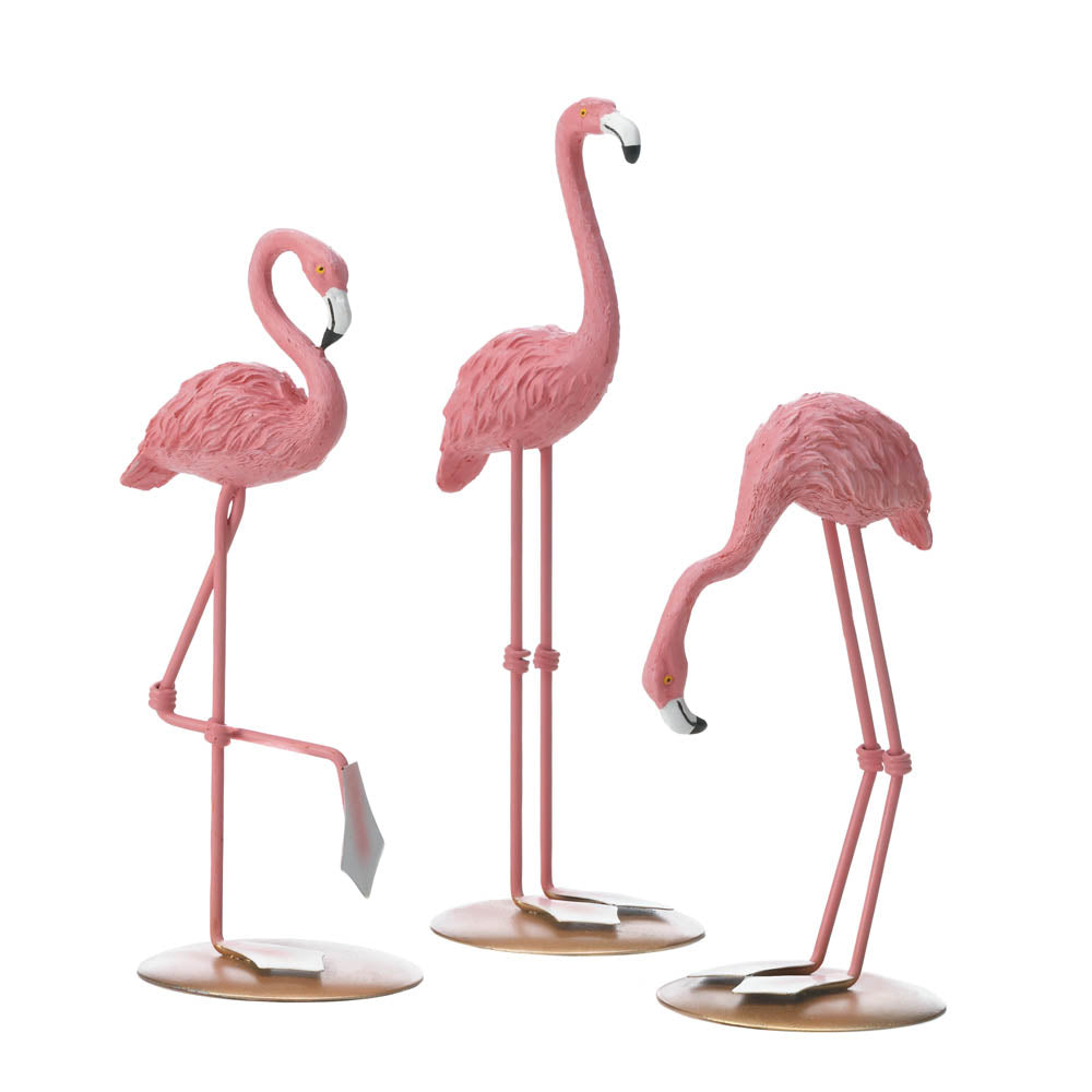Accent Plus Tabletop Flamingo Trio - 10018569