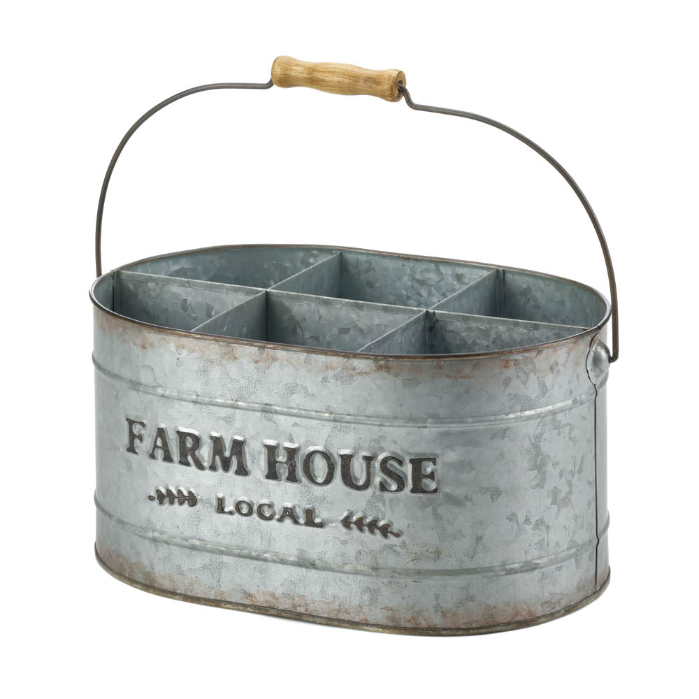 Accent Plus Galvanized Metal Wine Bucket - 10018572