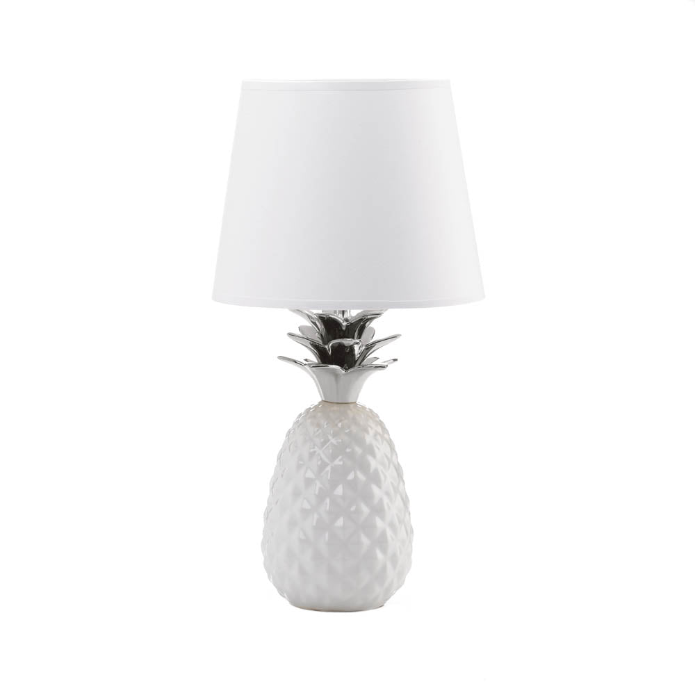 Gallery of Light Silver Topped Pineapple Table Lamp - 10018581