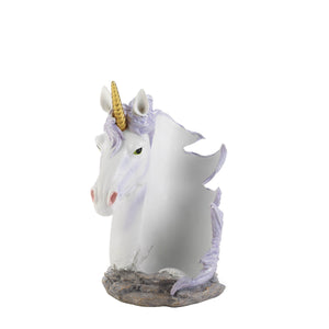 Dragon Crest Unicorn Mane Wrapped Wine Bottle Holder - 10018604