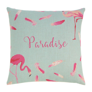 Accent Plus Flamingo Feathers Decorative Pillow - 10018712