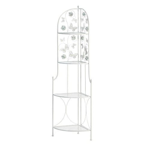 Accent Plus Butterfly 4-Tier Corner Rack - 10018740
