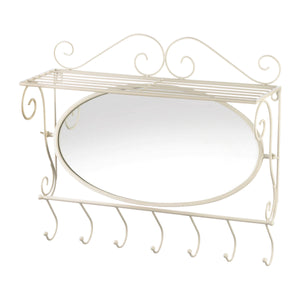 Accent Plus Mirrored Wall Shelf - 10018743