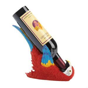 Accent Plus Colorful Parrot Wine Holder - 10018747