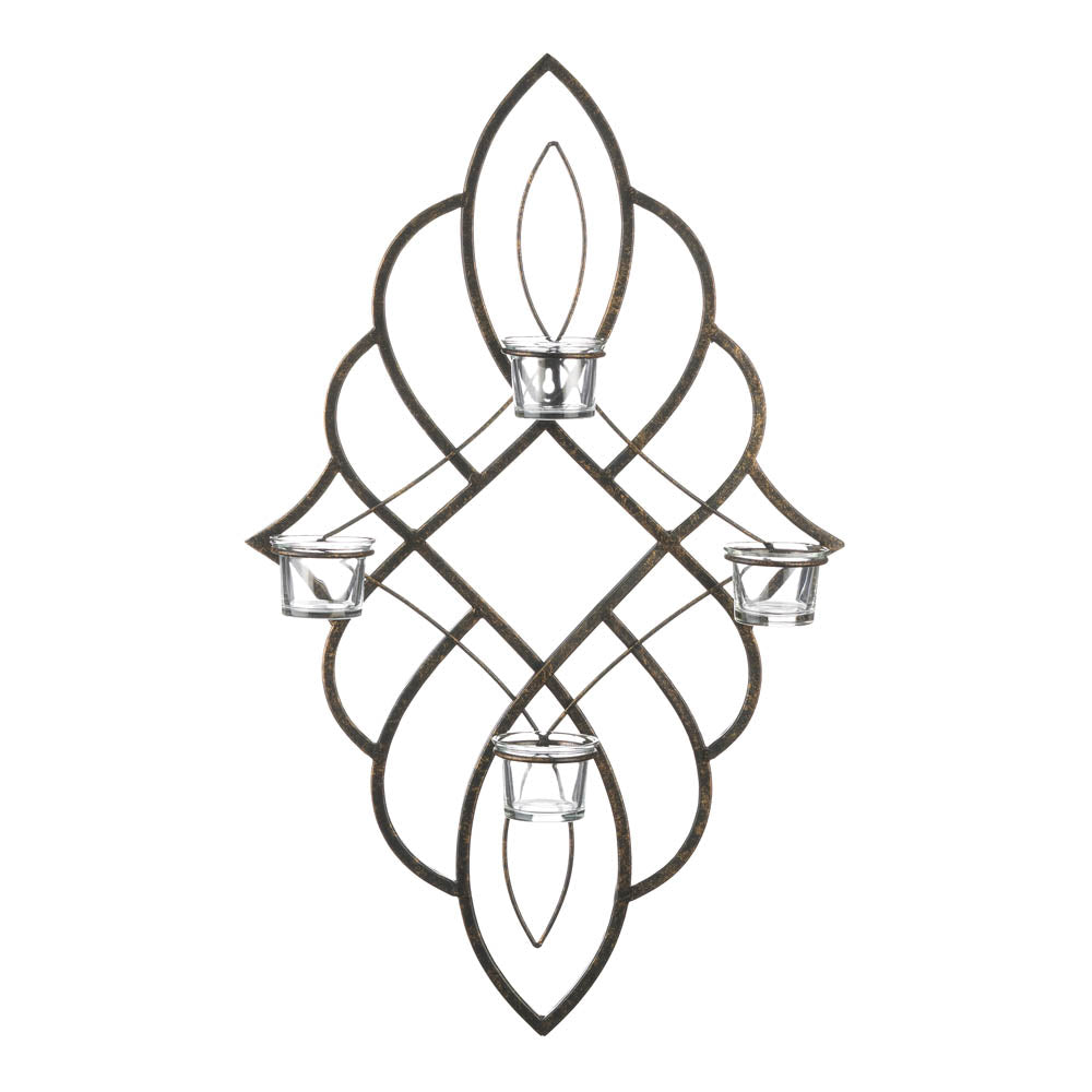 Gallery of Light Regal Candle Wall Sconce - 10018760