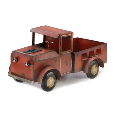 Summerfield Terrace Red Truck Solar Light Planter - 10018788
