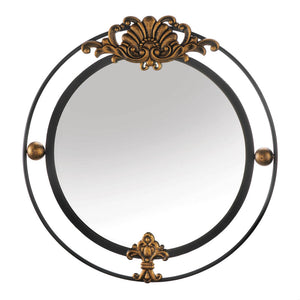 Accent Plus Regal Wall Mirror With Gold Accent - 10018790