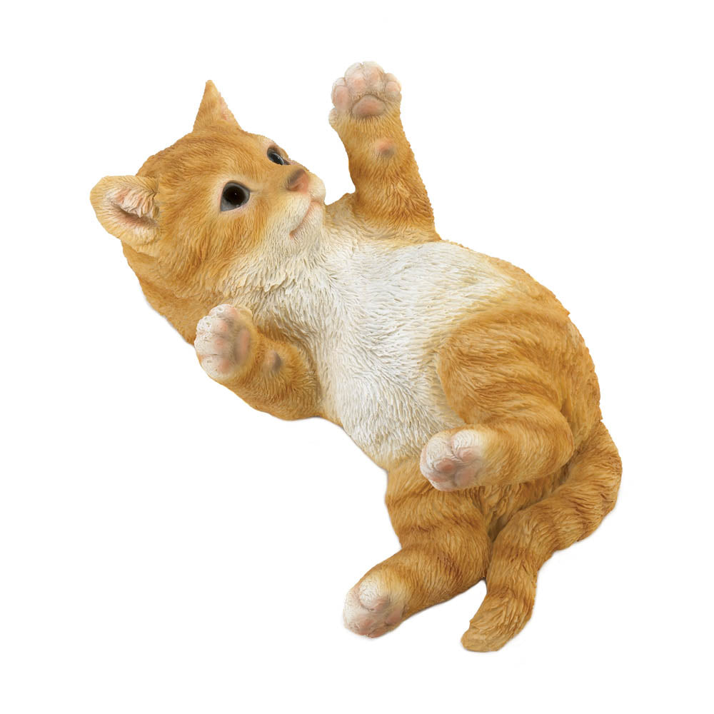 Summerfield Terrace Kitty Cat In Motion Figurine - 10018804