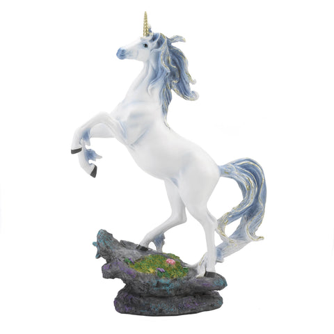 Dragon Crest Rearing Unicorn Figurine - 10018841