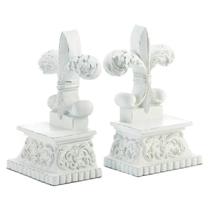 Accent Plus Fleur-De-Lis Bookends - 10018862