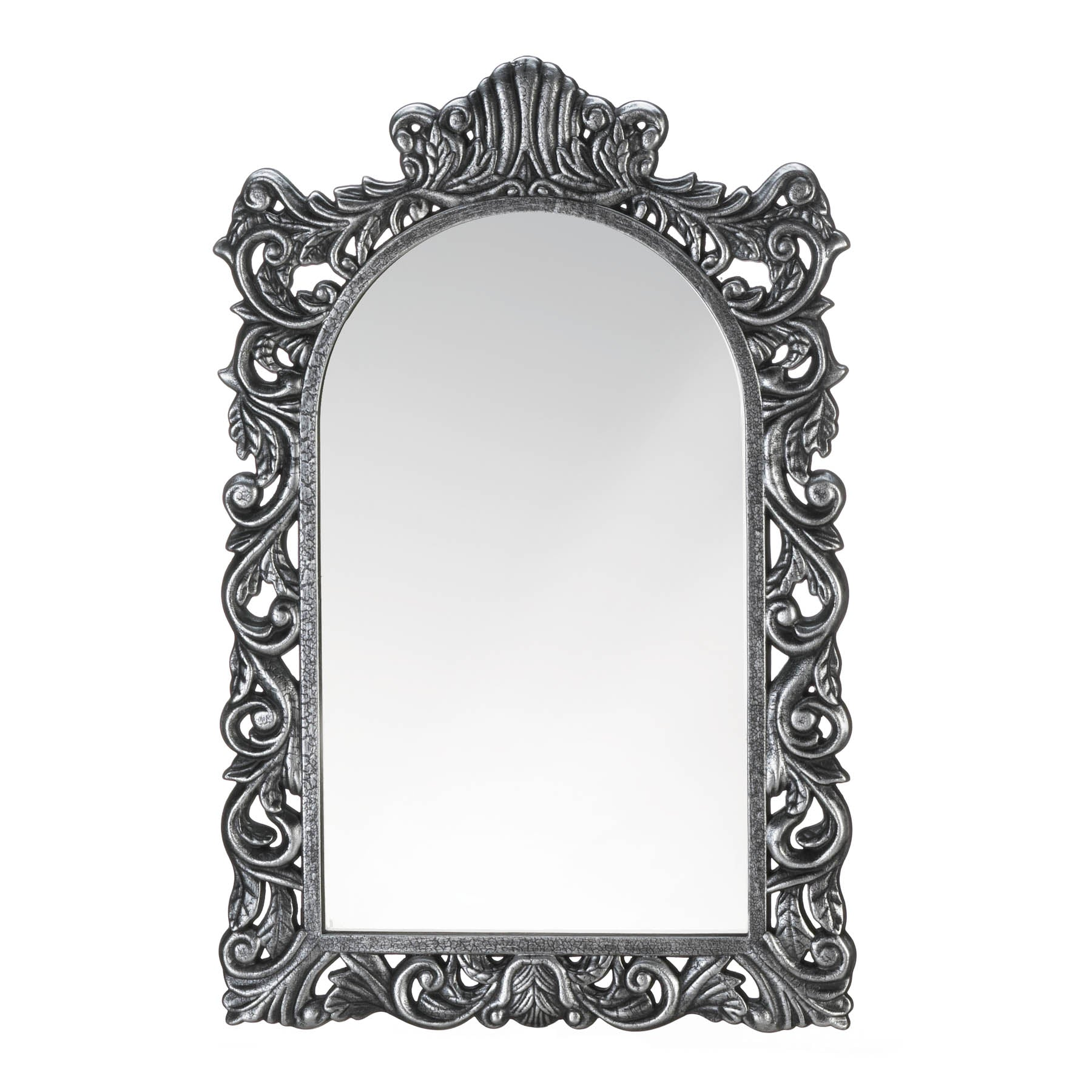 Accent Plus Grand Silver Wall Mirror - 10018870