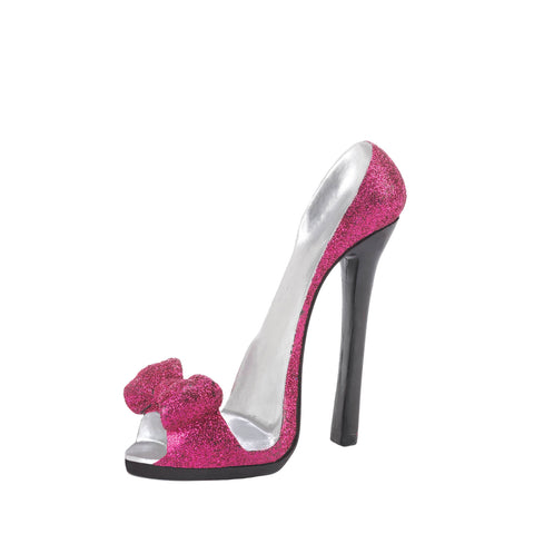 Accent Plus Pink Bow Shoe Phone Holder - 10018878