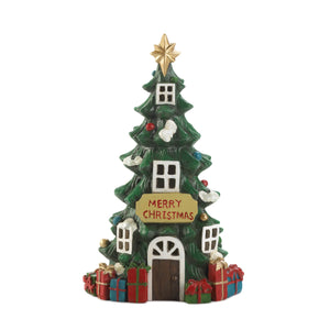 Christmas Collection Light Up Christmas Tree House - 10019057