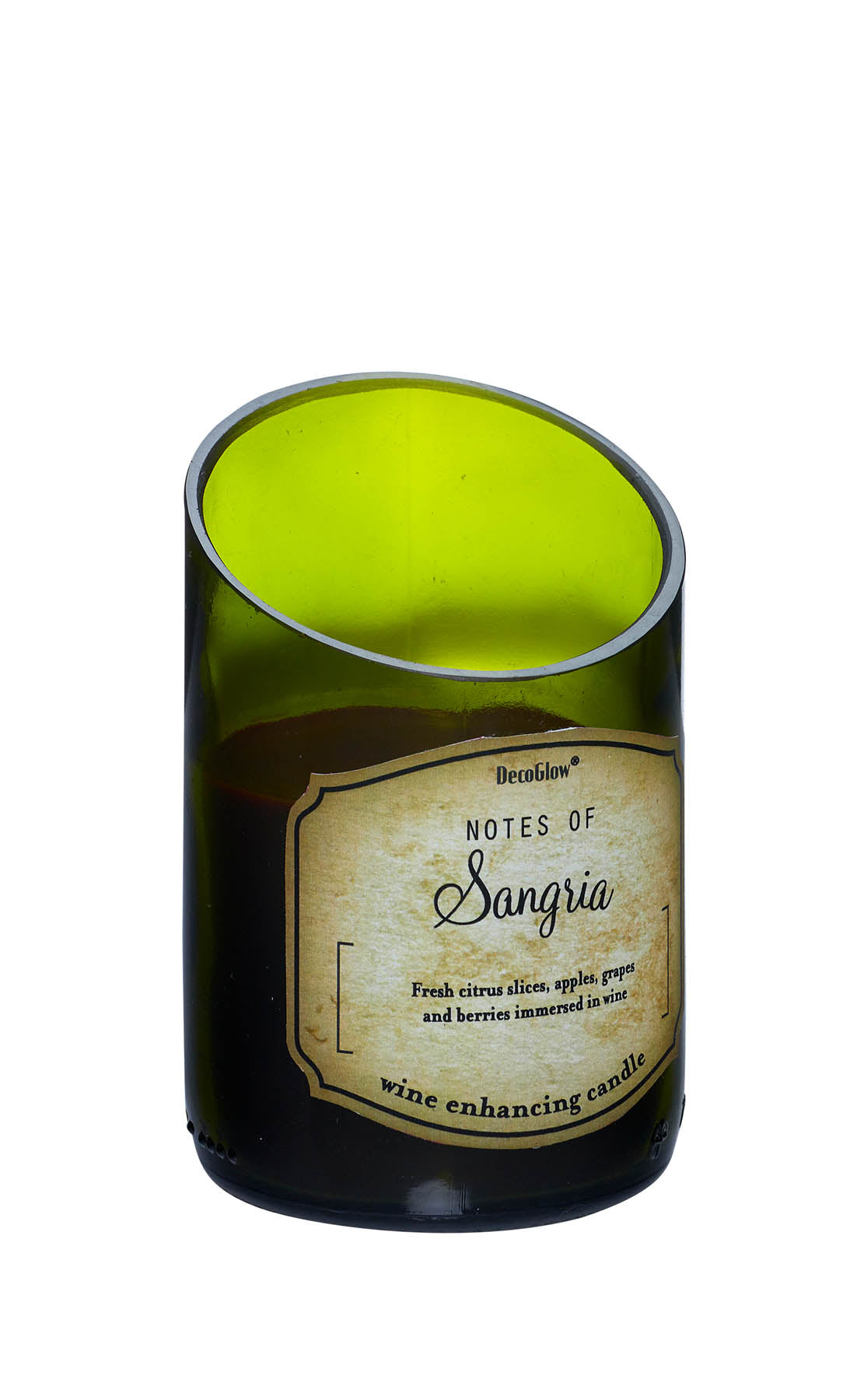 Koolekoo Wine Bottle Sangria Scented Candle - 12010813