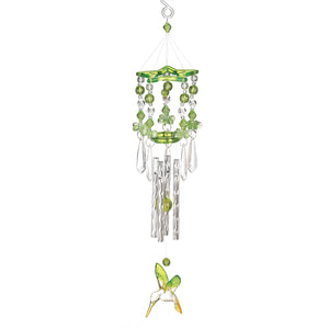 Songbird Valley Green Hummingbird Chime - 12506
