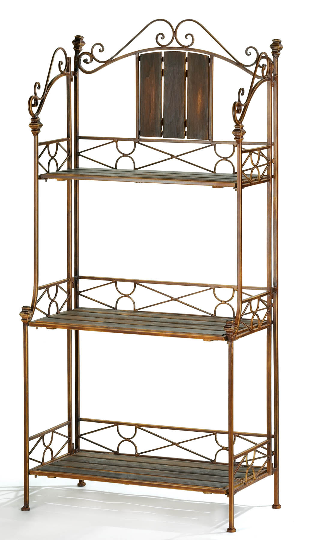 Accent Plus Rustic Baker's Rack Shelf - 12516