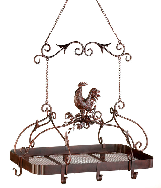 Accent Plus Country Rooster Kitchen Rack - 12657