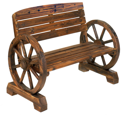 Summerfield Terrace Wagon Wheel Bench - 12690