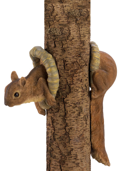 Woodland Squirrel Tree Decor