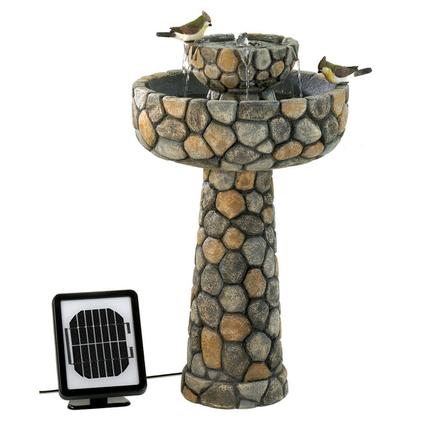 Cascading Fountains Wishing Well Solar Water Fountain - 12841