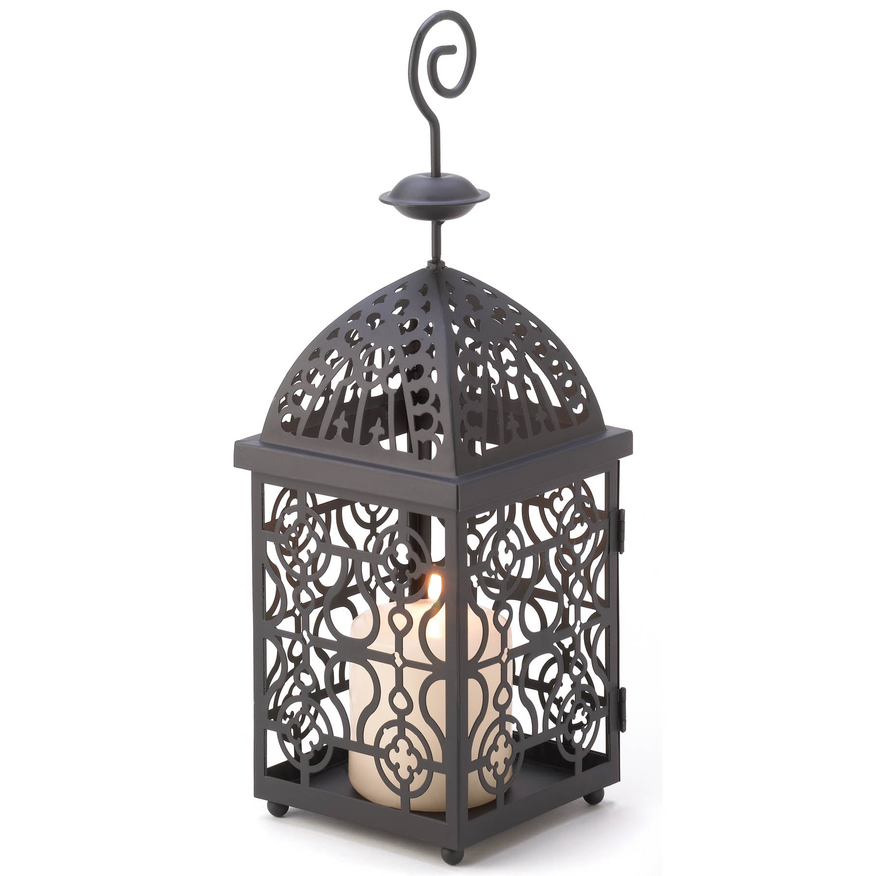 Gallery of Light Moroccan Birdcage Candle Lantern - 13175