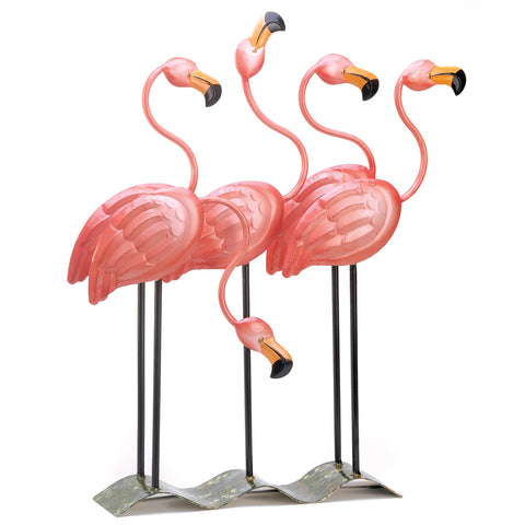 Summerfield Terrace Flock O' Flamingos Decor - 13771