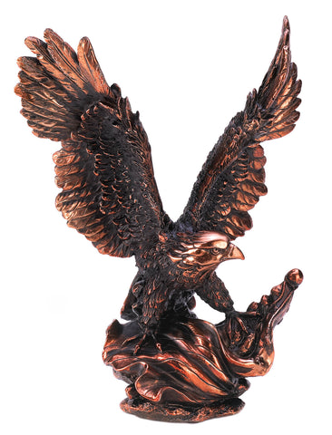 Accent Plus Eagle In Flight Statue - 13820