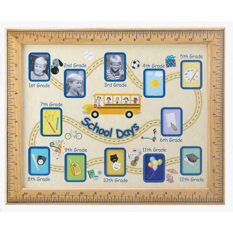 Accent Plus School Days Photo Frame - 13854