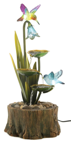 Cascading Fountains Hummingbird Haven Fountain - 13900