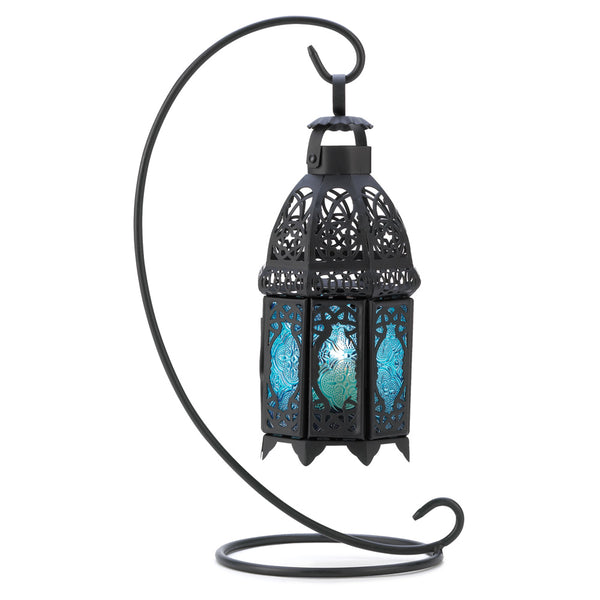 Gallery of Light Sapphire Nights Table Lantern - 14121