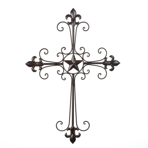 Wings of Devotion Lone Star Wall Cross - 14576