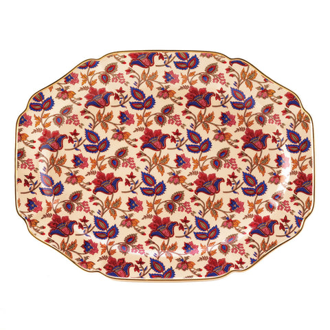 Koolekoo Jaipur Cream Serving Platter - 15000
