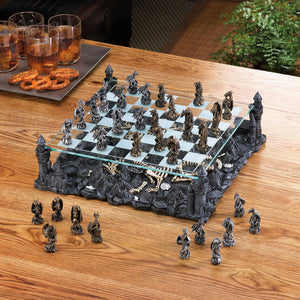 Dragon Crest Dragon Kingdom Chess Set - 15190