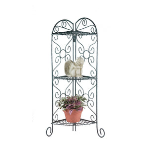 Summerfield Terrace Corner Plant Stand - 27128