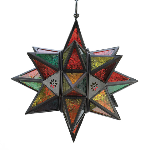 Gallery of Light Moroccan-Style Star Lantern - 34690