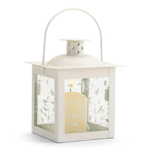 Gallery of Light Small White Lantern - 37440