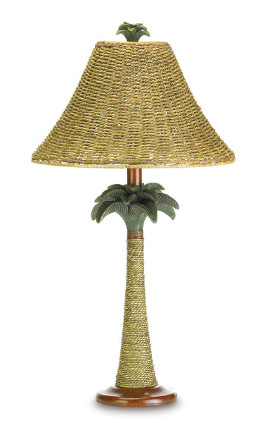 Gallery of Light Palm Tree Rattan Lamp - 37989