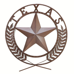 Accent Plus Texas Star Wall Plaque - 38595