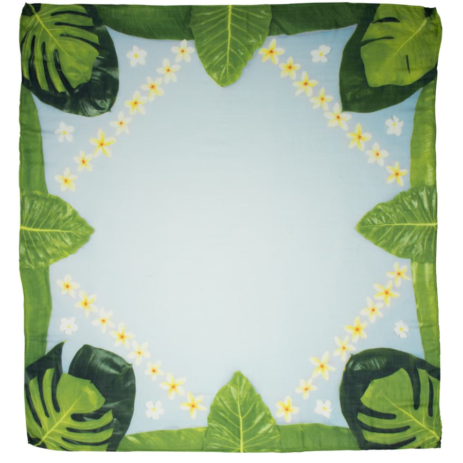 Monstera Memories Photo Blanket