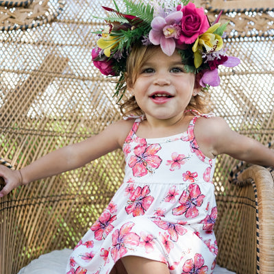 Clothing - Hibiscus Toddler Dress