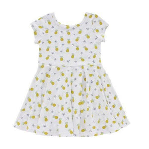 Pineapple Of My Eye Toddler T-Shirt Dress