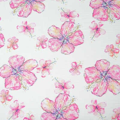 Crib Sheet - Hibiscus Kiss Crib Sheet
