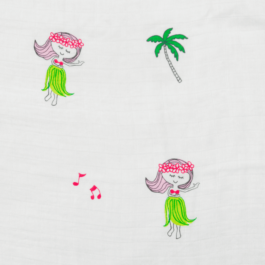 Swaddle Blanket - Hula Girls Swaddle