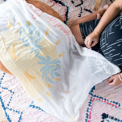 Swaddle Blanket - You Are My Sunshine Swaddle
