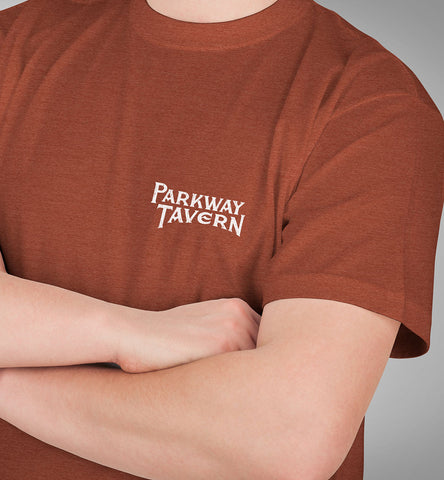 Parkway Men's Tavern Tri-Blend T-Shirt – Clay