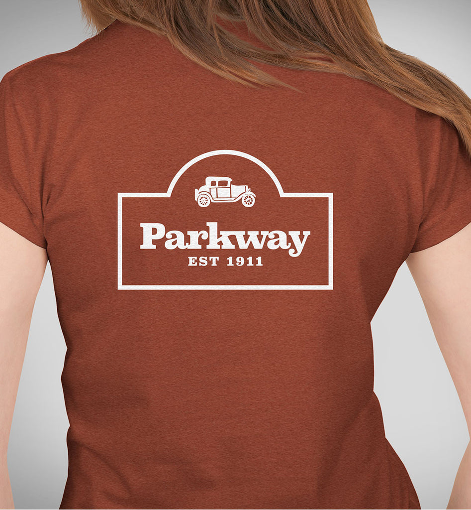 Parkway Women's Restaurant Tri-Blend T-Shirt – Clay